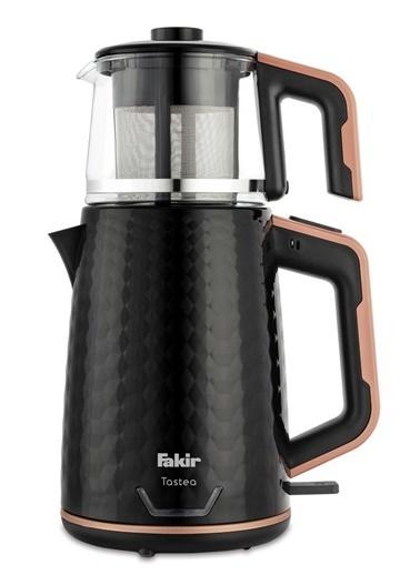 Fakir Tastea Çay Makinesi Siyah-Rose – 2 Litre Siyah